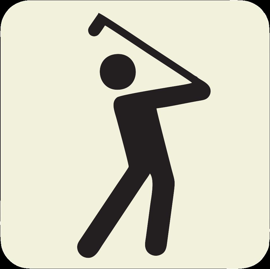 934x933 Golf Clubs Golf Course Clip Art