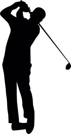 236x444 Golfer Silhouette Vector Awesome Golfer Vector Downloadsilhouette