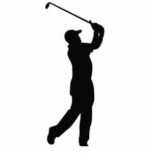 300x300 Male Golfer Silhouette
