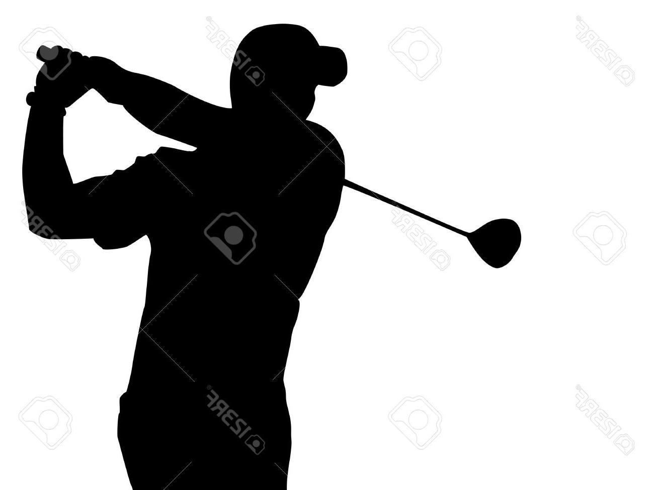 1300x975 Best 15 Epa Golfer Silhouette Stock Vector Golf Design