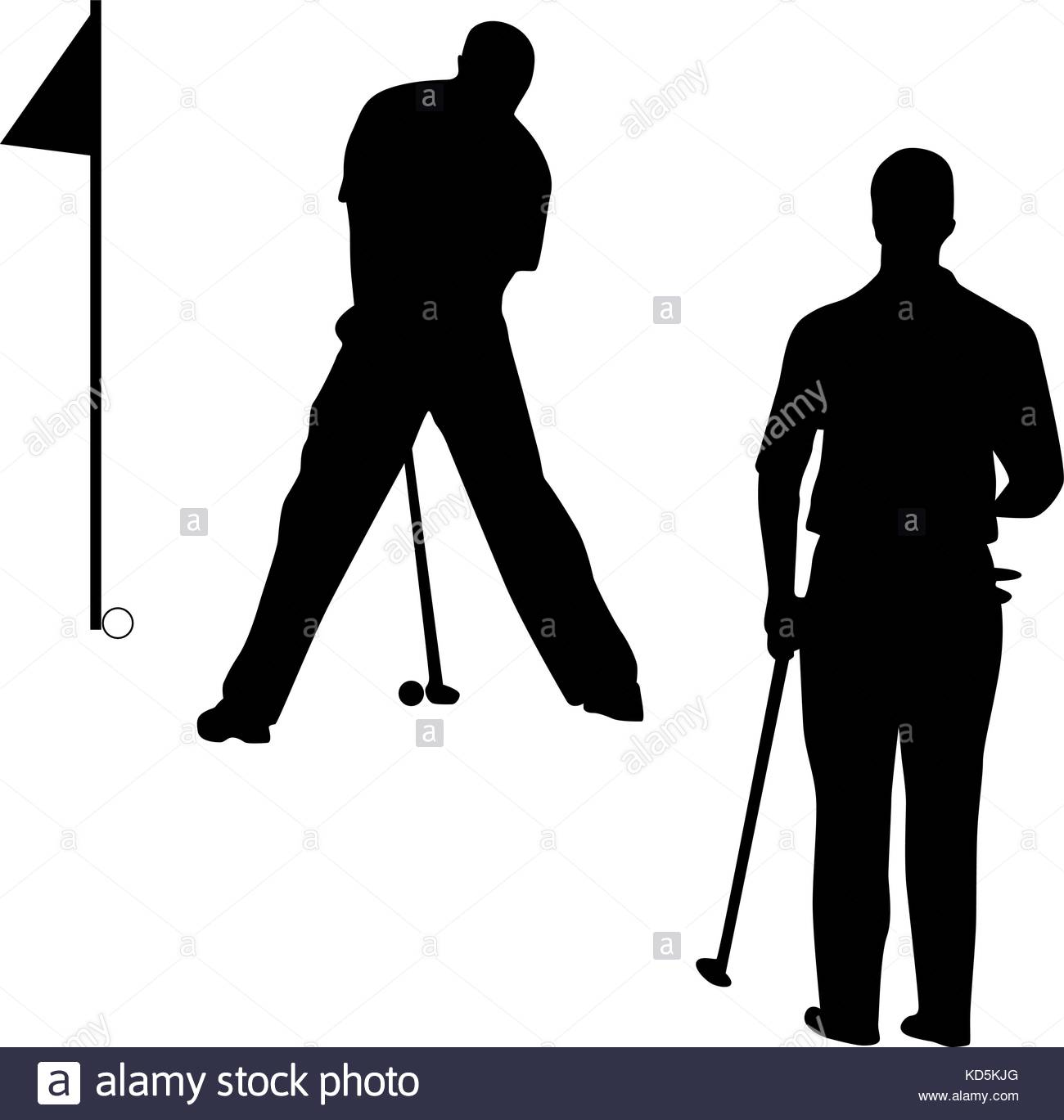 1300x1369 Golf Silhouette Vector Stock Vector Art Amp Illustration, Vector