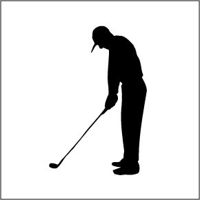 Golf Silhouette Vector