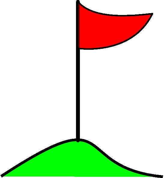 546x594 Golf Flag In Hole On Green Clip Art Free Vector 4vector