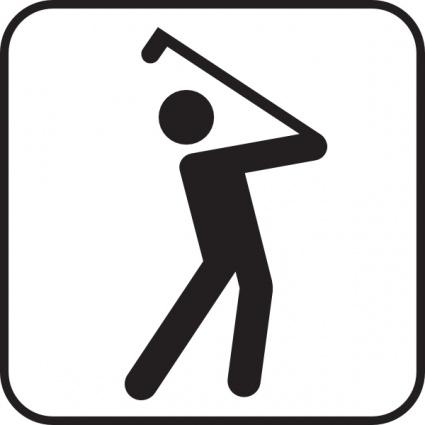 425x425 Golf Vector