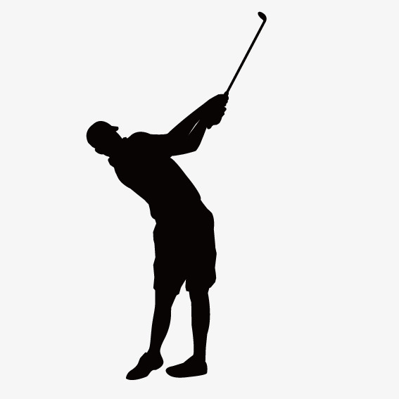 567x567 Man Playing Golf, The Man, Golf, Movement Png And Vector For Free