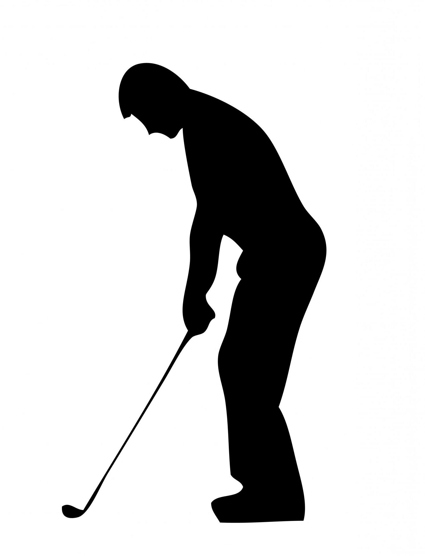 1469x1920 Best Hd Golf Silhouette Art File Free