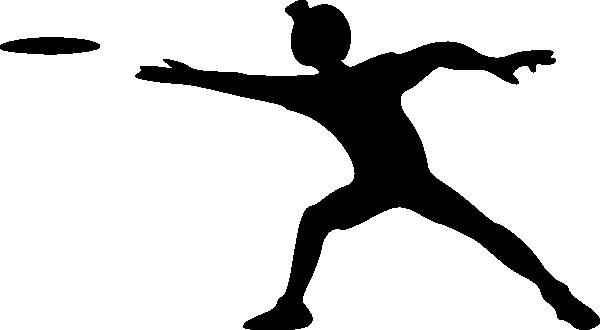 600x330 Disc Golf Silhouette Clipart