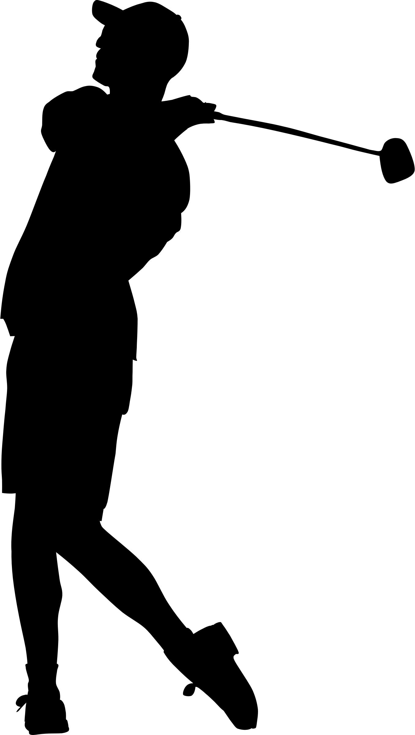 Golfer Silhouette At Getdrawings Com Free For Personal