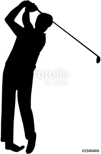 328x500 Golfer Silhouette Stock Photo And Royalty Free Images On Fotolia