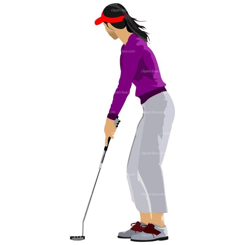 800x800 Free Women Golf Clipart