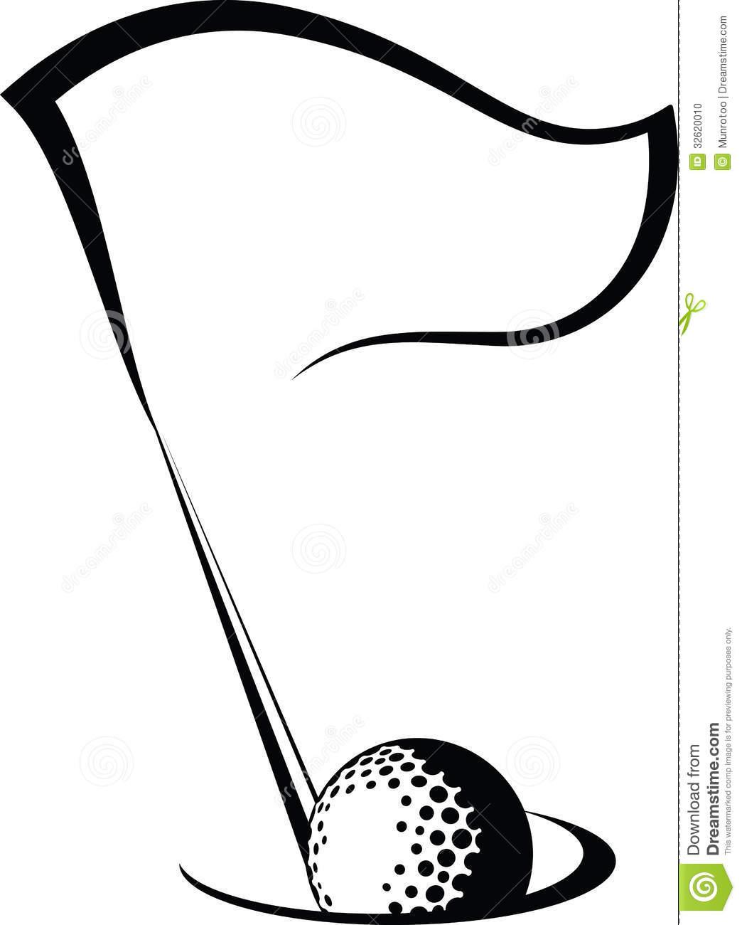 1044x1300 Golf Silhouette Clipart
