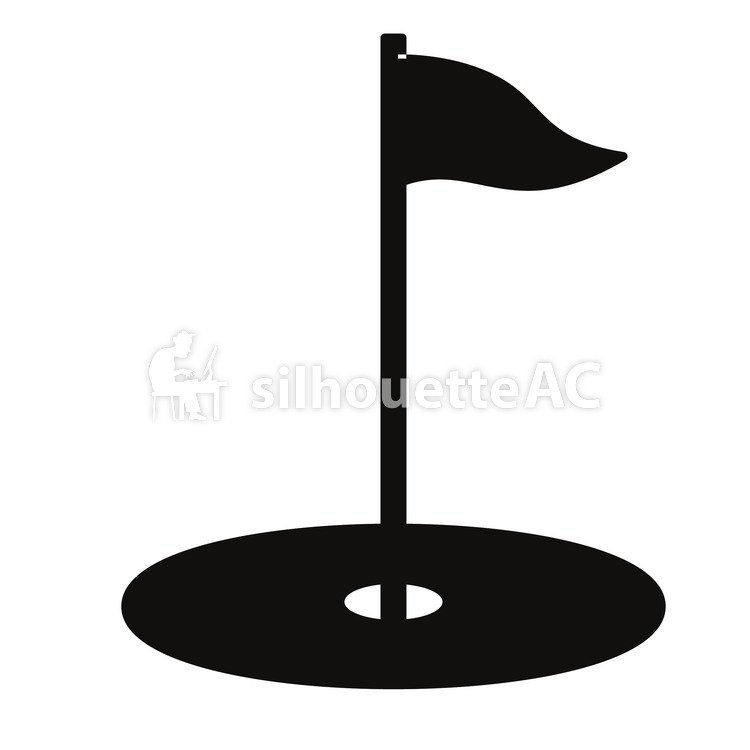 Golfer Silhouette Vector Free At Getdrawings Com Free For Personal
