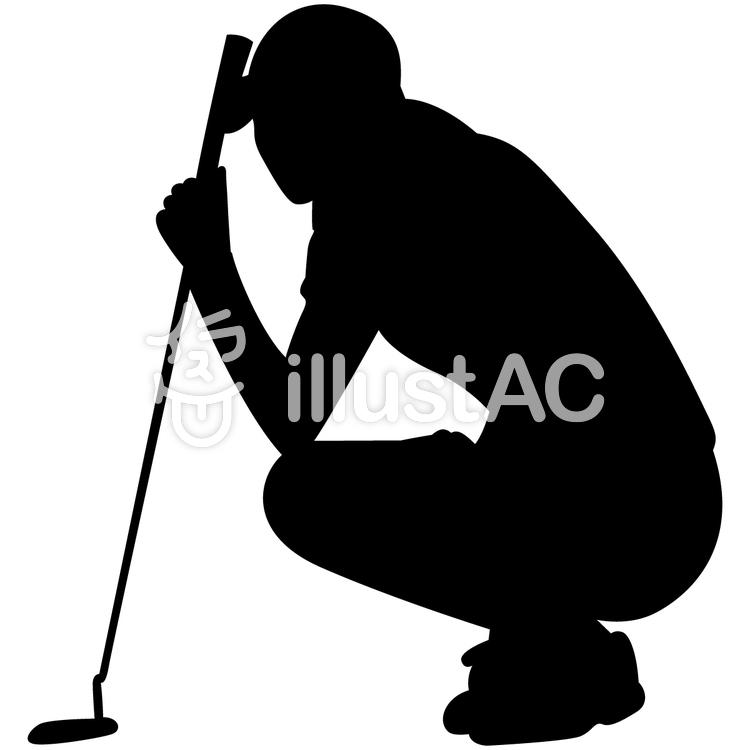 750x750 Free Cliparts Silhouette, Female, Golfer