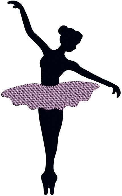 429x685 Printable Ballerina Silhouette