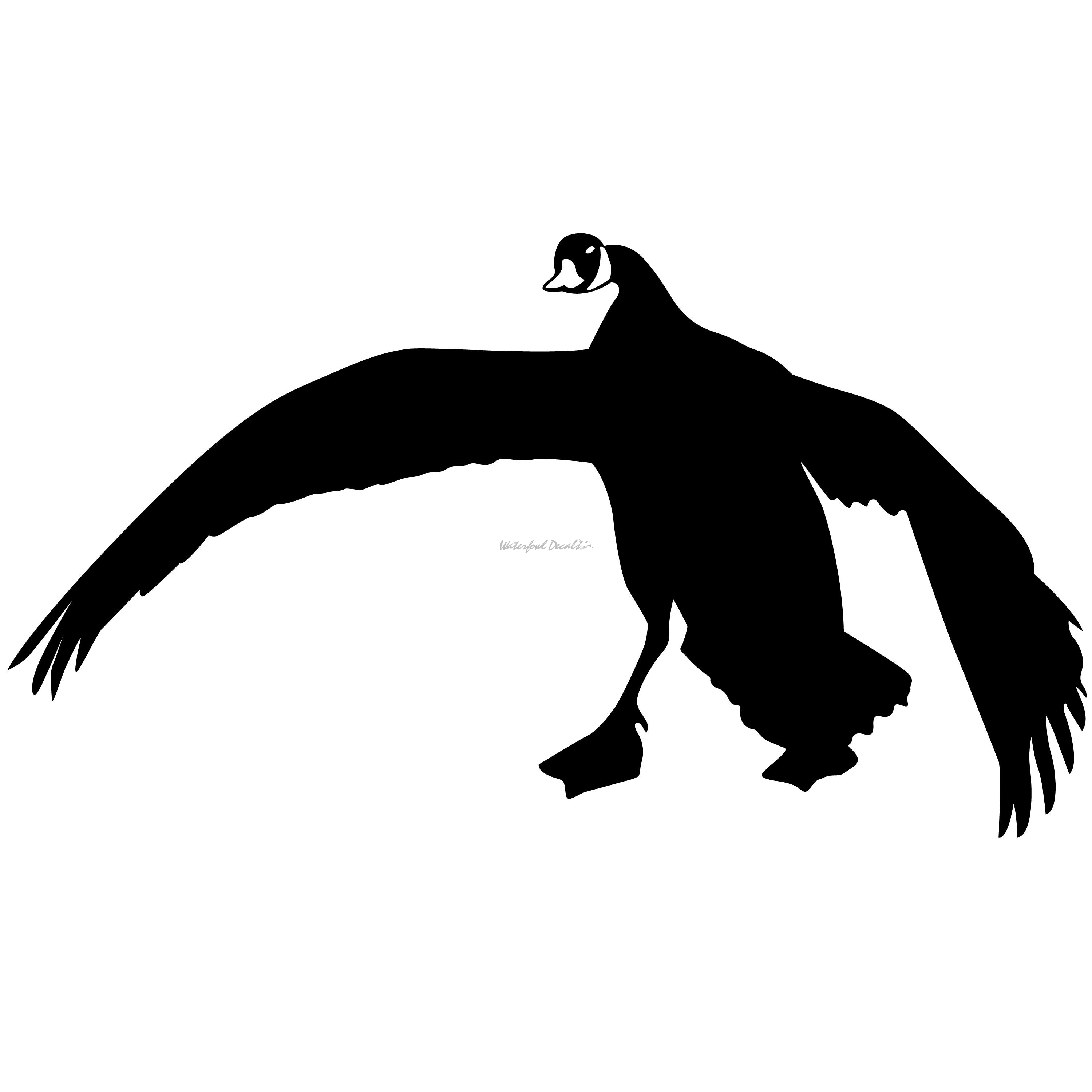 3000x3000 1227 Goose Feet Down Decal