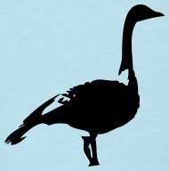 190x192 Goose Silhouette By Lucid Reality Spreadshirt