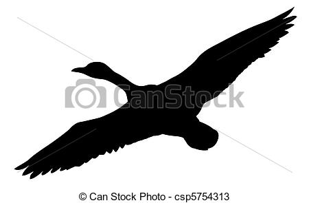 450x295 Vector Silhouette Flying Ducks On White Background Vectors