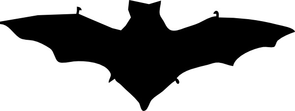 600x226 Flying Bat Silhouette Free Vector Download (6,749 Free Vector)