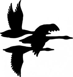 236x247 Duck Silhouette Vector Free Scroll Saw Pattern File Format, Pdf