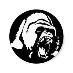 236x236 Gorilla Logo Ideas, Digital Art And Drawings