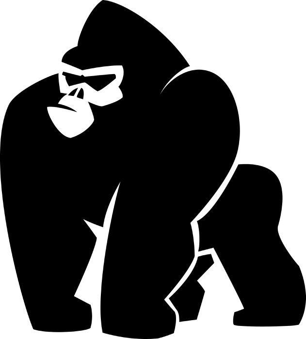 631x700 Pin By Greg Gallaher Jr. On Gorillas Stenciling