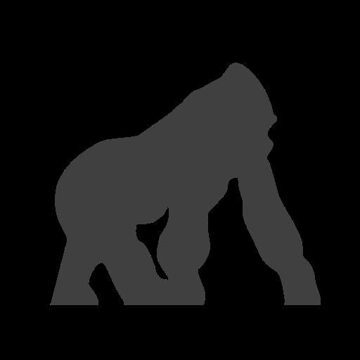 512x512 Endangered, Gorilla Icon