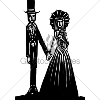 325x325 Gothic Marriage Gl Stock Images