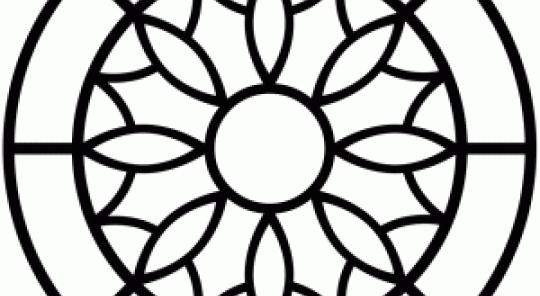 540x296 Silhouette Gothic Window Designs