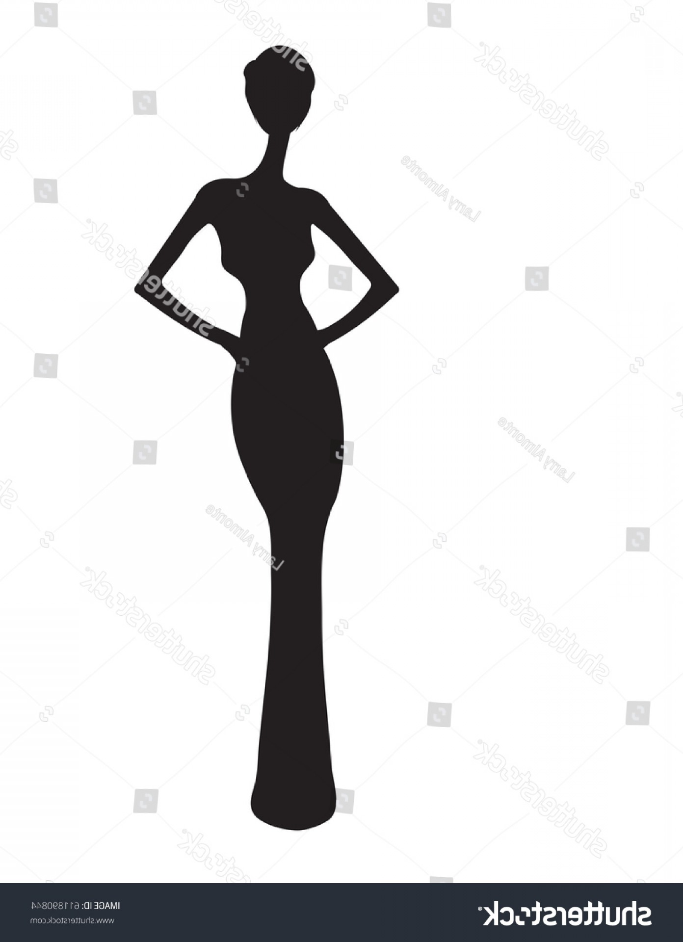 1392x1920 Woman Gown Silhouette Elegant Evening Eps Createmepink