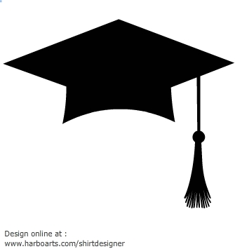grad cap silhouette at getdrawings com free for personal use grad