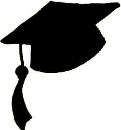 250x268 Graduation Hat Flying Graduation Caps Clip Art Graduation Cap Line