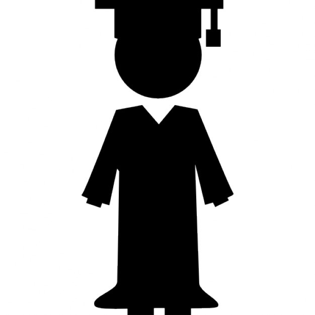 626x626 Graduates Silhouette Vectors, Photos And Psd Files Free Download