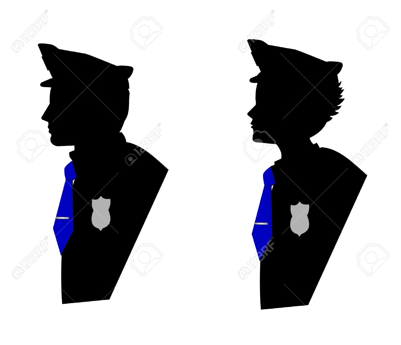 1300x1118 Silhouette Clipart Police