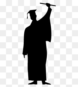 260x288 Graduates Silhouette Png Images Vectors And Psd Files Free