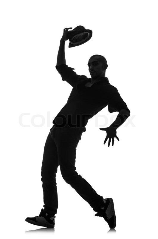 530x800 Male Jazz Dancers Male Jazz Dancer Silhouette