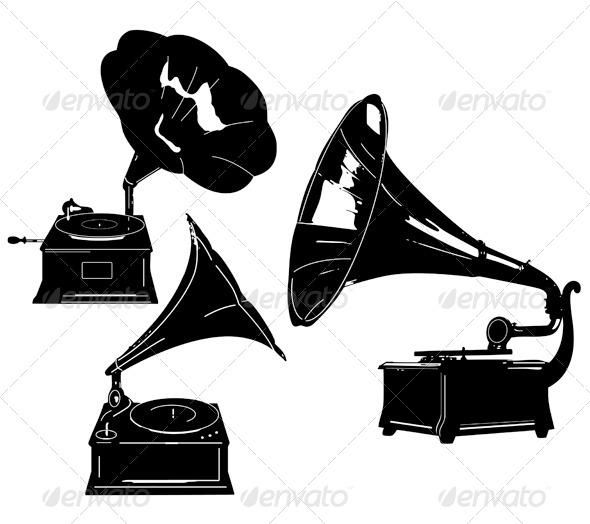 590x524 Gramophones By Freetransform Graphicriver
