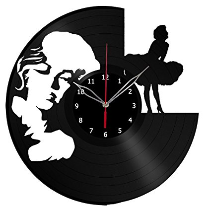 425x425 Marilyn Monroe Vinyl Clock Record Wall Clock Fan Art