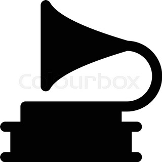 320x320 Silhouette Musical Instruments. Vector Isolated Icons