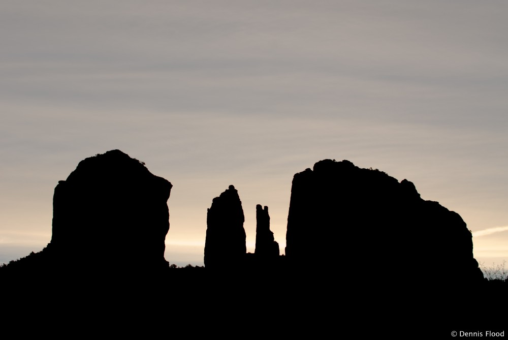 1000x669 Cathedral Rock Silhouette Dennis Flood Photography