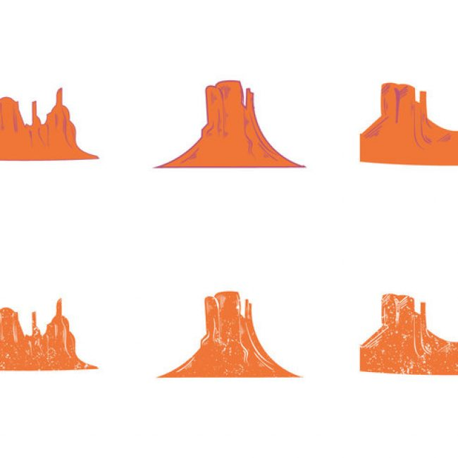 650x650 Free Vector Free Grand Canyon Vector Silhouette