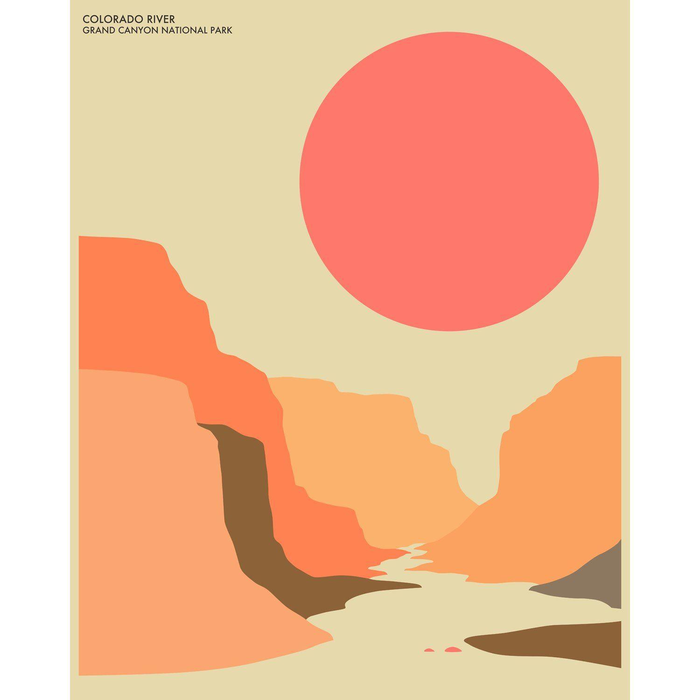 1500x1500 Grand Canyon Graphic Art Grand Canyon, Graphic Art And Art Studios