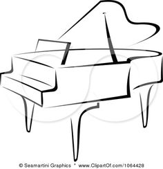 236x244 Grand Piano Silhouette Music Book Page Art By Specialthingsshop