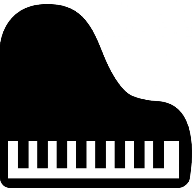 626x626 Piano Top View Icons Free Download