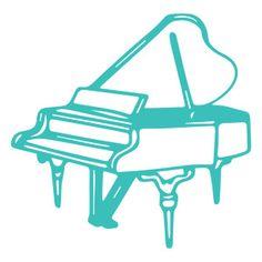 236x236 Piano Silhouette Wotomoro Die Cuts Pianos