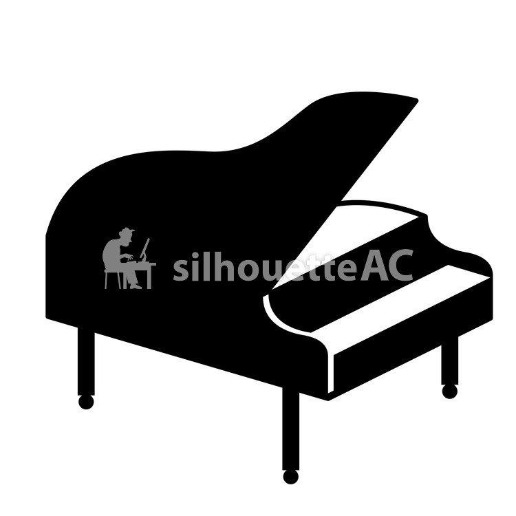 750x750 Free Silhouette Vector Icon, Orchestra