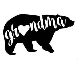340x270 Grandma Bear Etsy