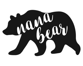 340x270 Grandma Bear Svg Etsy