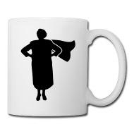 190x190 Grandma Superhero Mug Spreadshirt