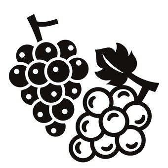 340x340 Free Silhouettes Grape, Fresh