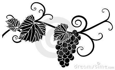 400x246 Grape Silhouette Peinture Sur Verre Silhouettes